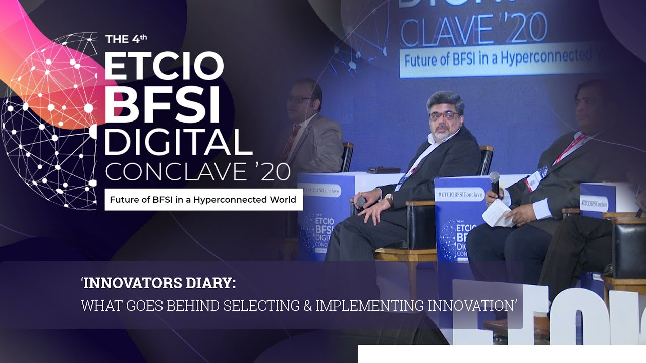 Panel Discussion on 'Innovators Diary: What Goes Behind Selecting & Implementing Innovation'