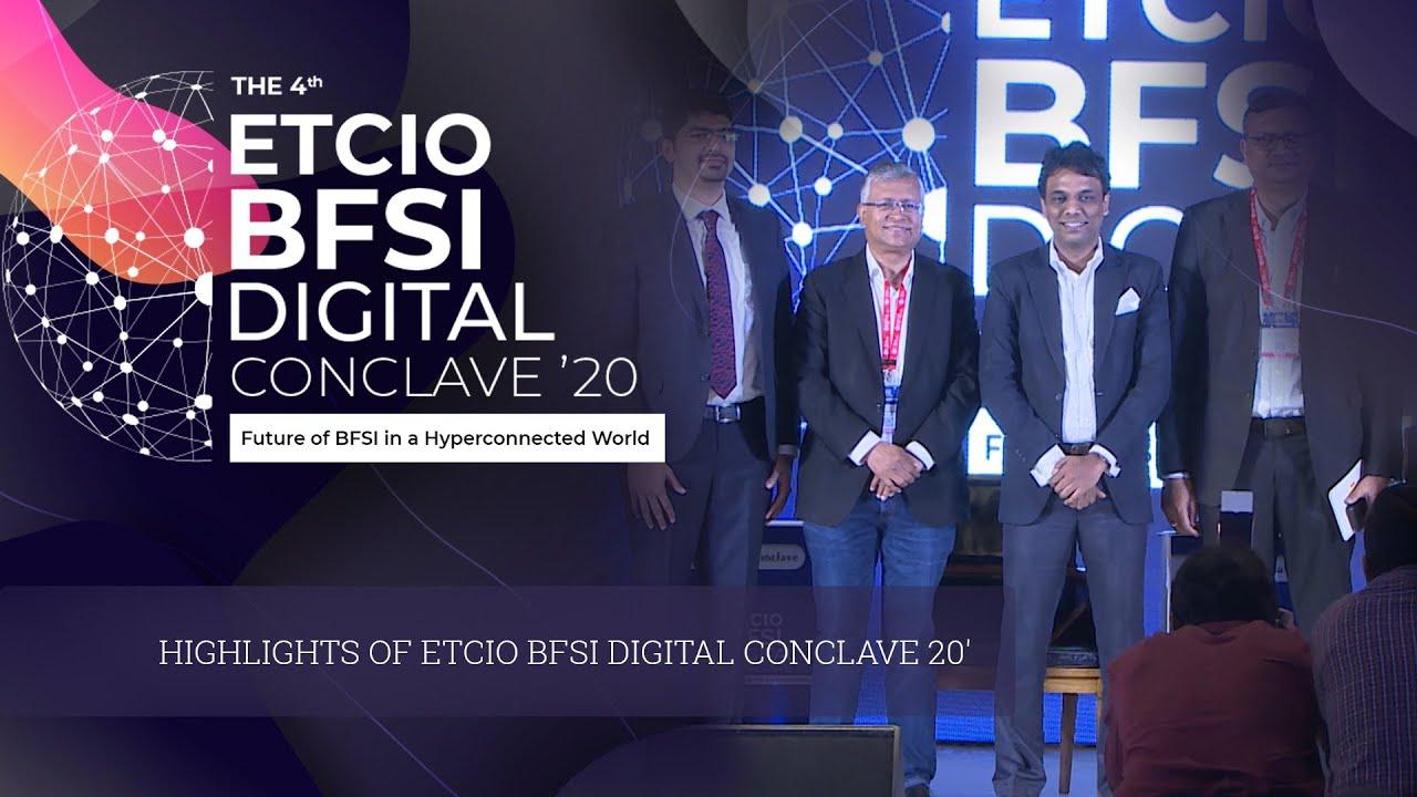 Highlights of ETCIO BFSI Digital Conclave 20'