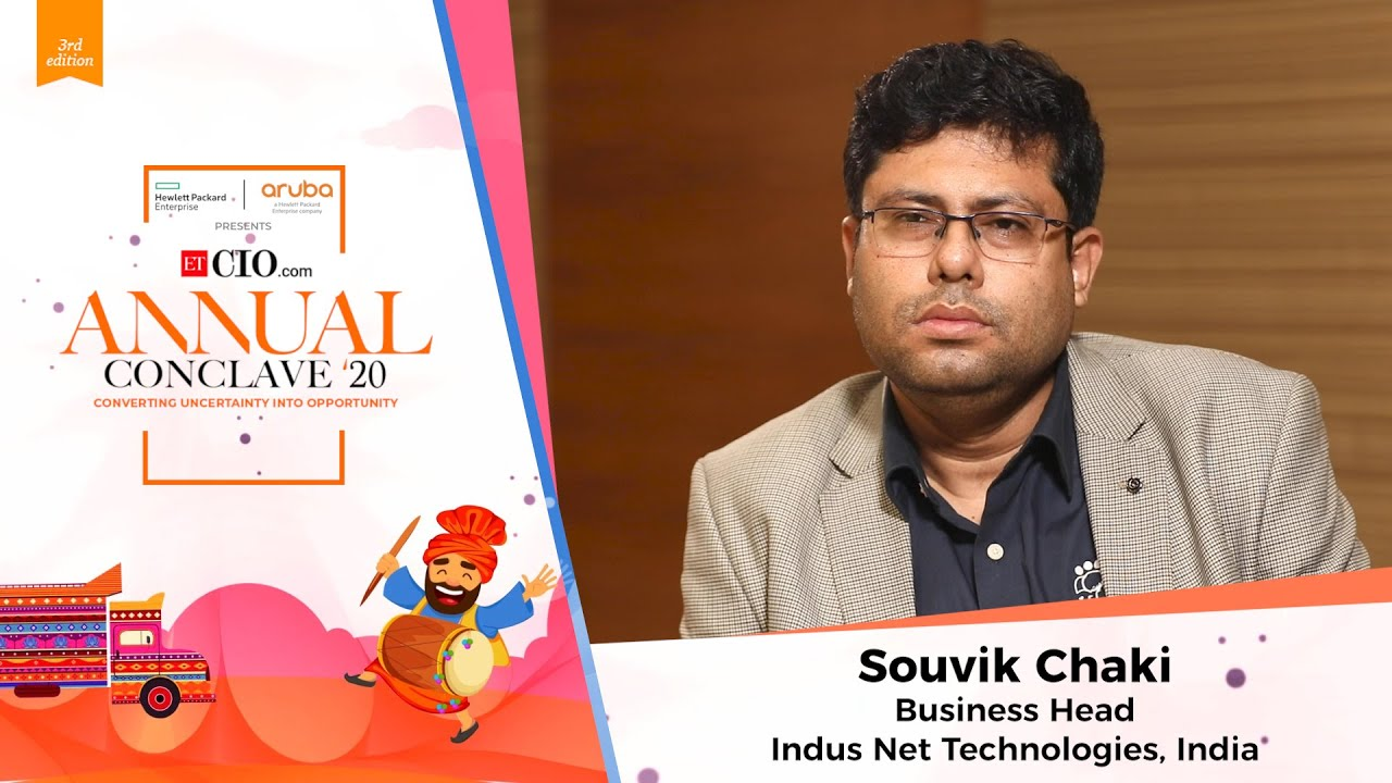Souvik Chaki, Business Head, Indus Net Technologies, India