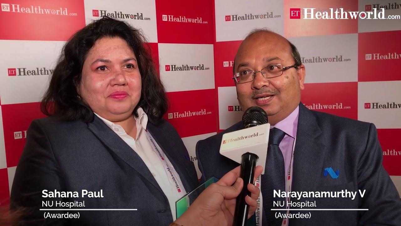 Narayanamurthy V & Sahana Paul, NU Hospital