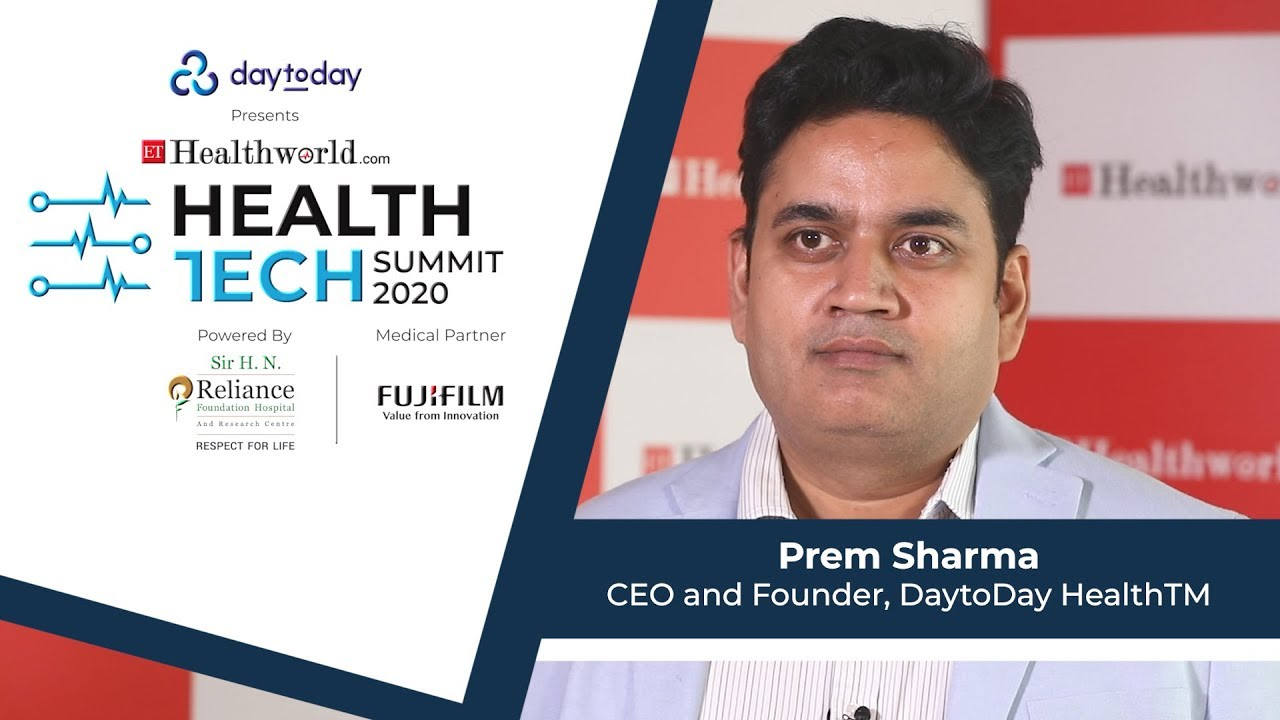 Prem Sharma, Founder & CEO, DaytoDay HealthTM