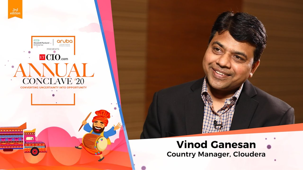 Vinod Ganesan, Country Manager, Cloudera