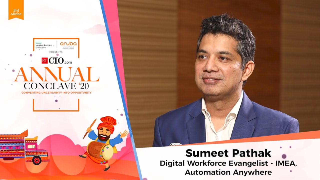 Sumeet Pathak, Digital Workforce Evengelist-IMEA, Automation Anywhere