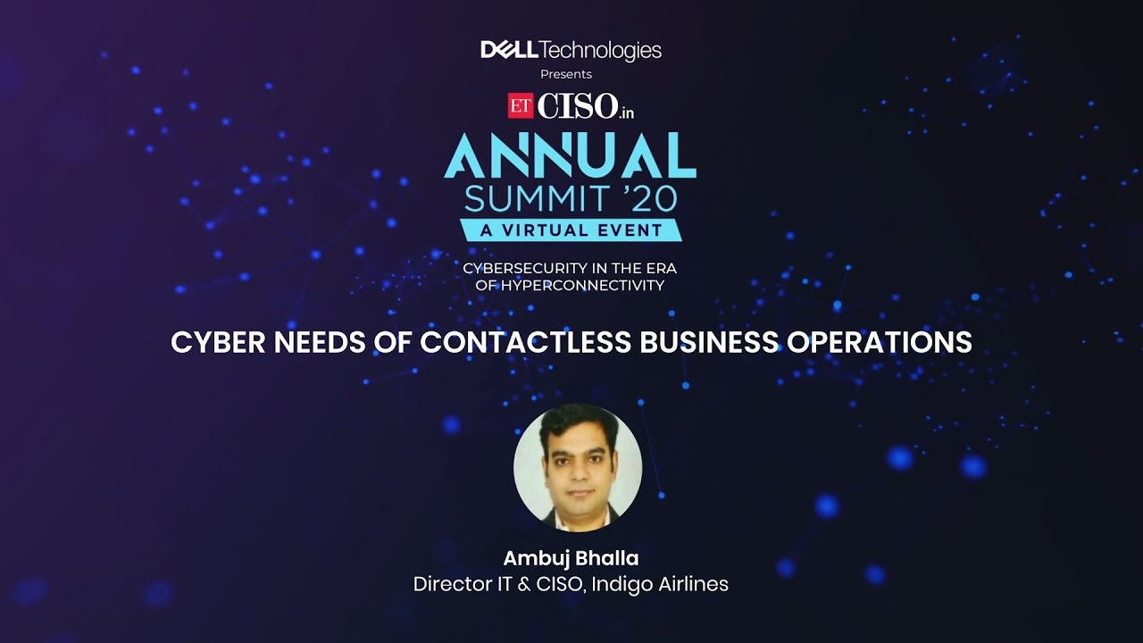 Cyber Needs of Contactless Business Operations
