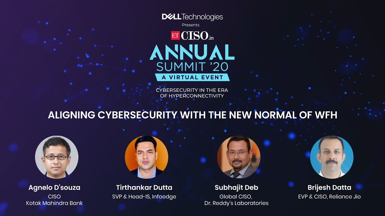 Panel Discussion on 'Aligning Cybersecurity with the new normal of WFH'