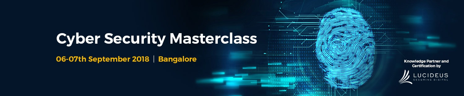 Cyber Security Masterclass Bangalore