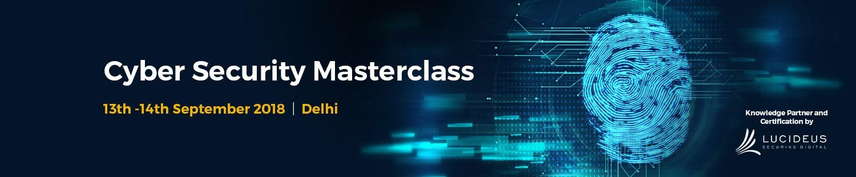 Cyber Security Masterclass Delhi