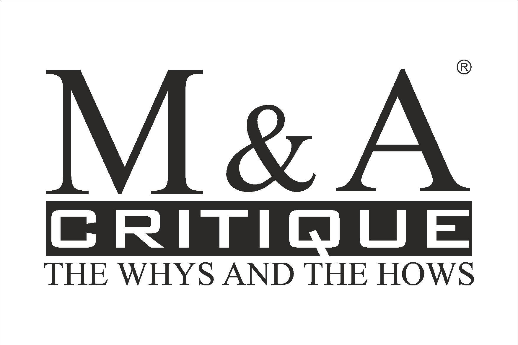 M&A Critique