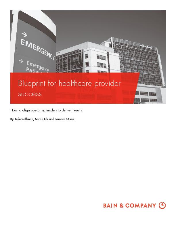 White paper get health market research financial reports and hospitals white paper blueprint for healthcare provider success bain malvernweather Image collections