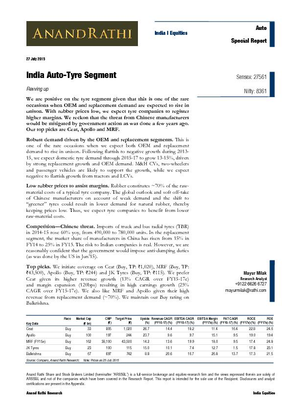 top report indian automotive and industrial lubricants Report search need immediate assistance table 5-1 | india: automotive lubricant demand by formulation, 2006 - 2021 (000 metric tons) table 5-2 back to top stay informed receive periodic alerts of new market research in areas relevant to your business.