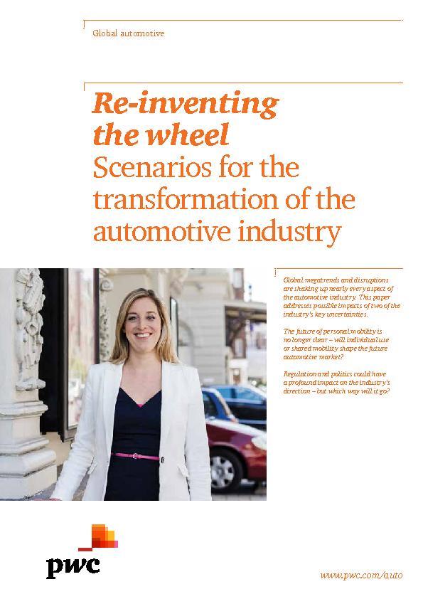 Automotive Essays (Examples)